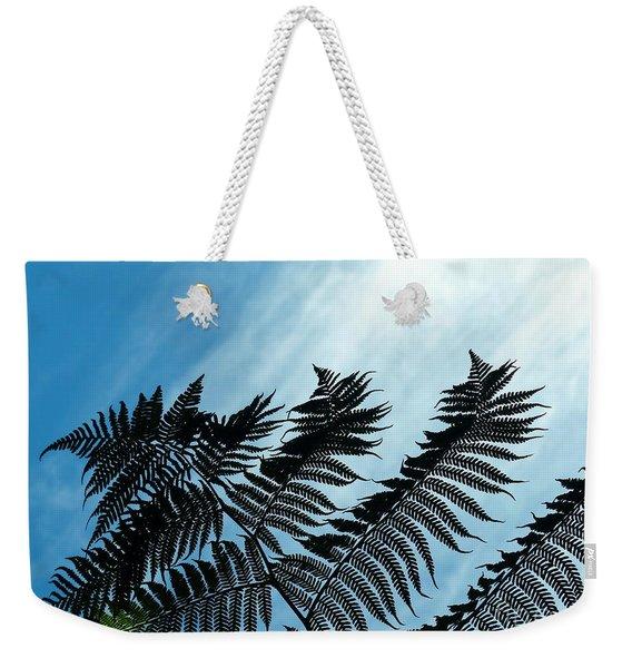 Palms Flying High Weekender Tote Bag