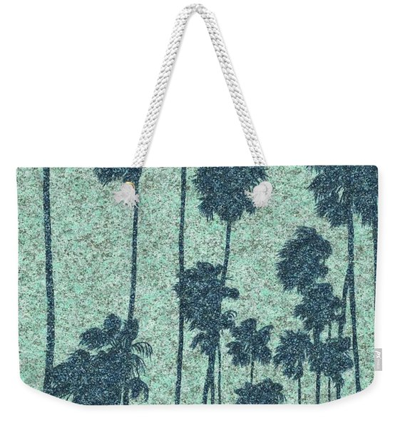 Palms Over Palisades No. 2 Weekender Tote Bag