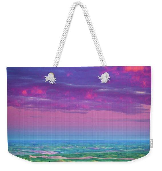 Palouse Fiery Dawn Weekender Tote Bag