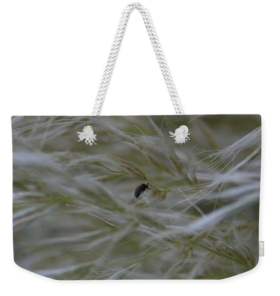 Pampas Grass And Insect Weekender Tote Bag