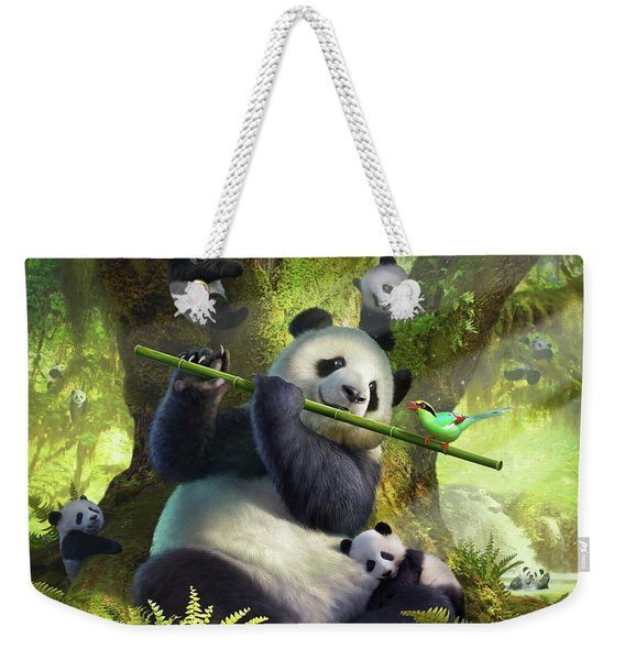 Pan Da Bear Weekender Tote Bag