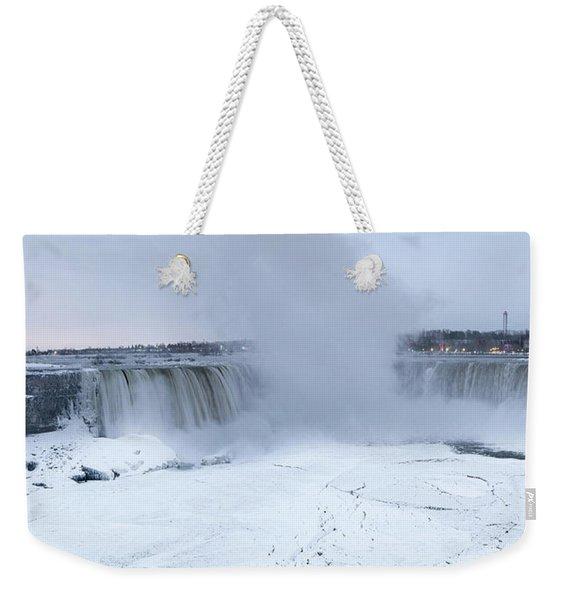 Panoramic View Niagara Falls Weekender Tote Bag