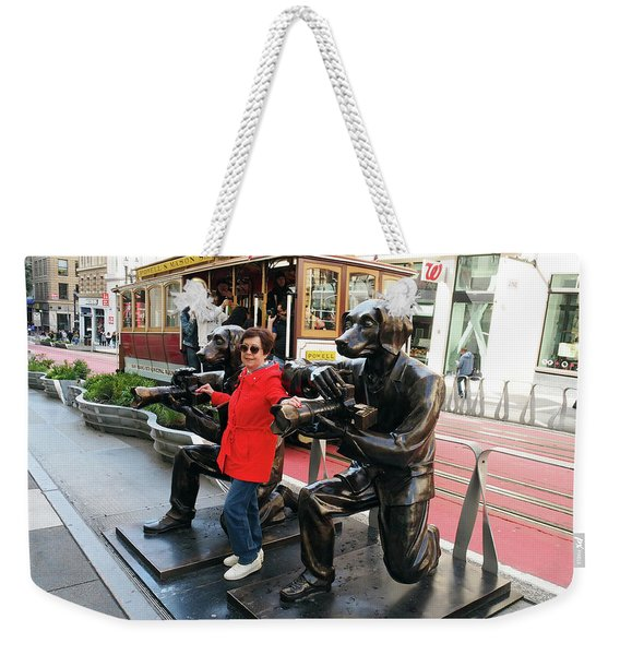 Paparazzi Dogs 2 Weekender Tote Bag