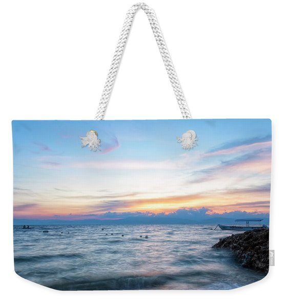 Paradise Beauty Weekender Tote Bag