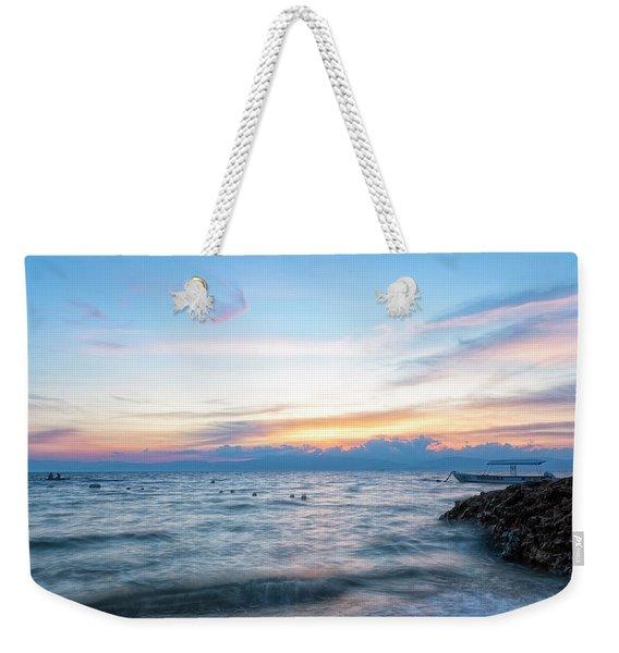 Paradise Beauty Weekender Tote Bag