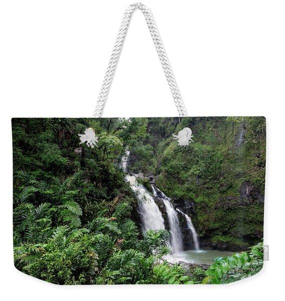 Paradise Falls Weekender Tote Bag
