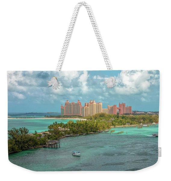 Paradise Island Bahamas Weekender Tote Bag