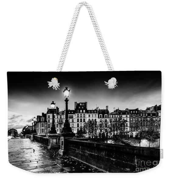 Paris At Night - Pont Neuf Weekender Tote Bag