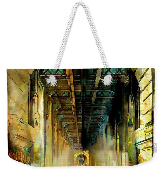 Paris Passage Weekender Tote Bag