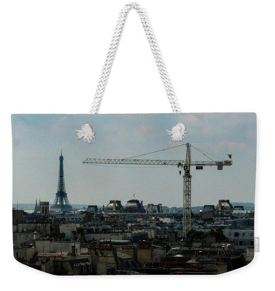 Paris Towers Weekender Tote Bag