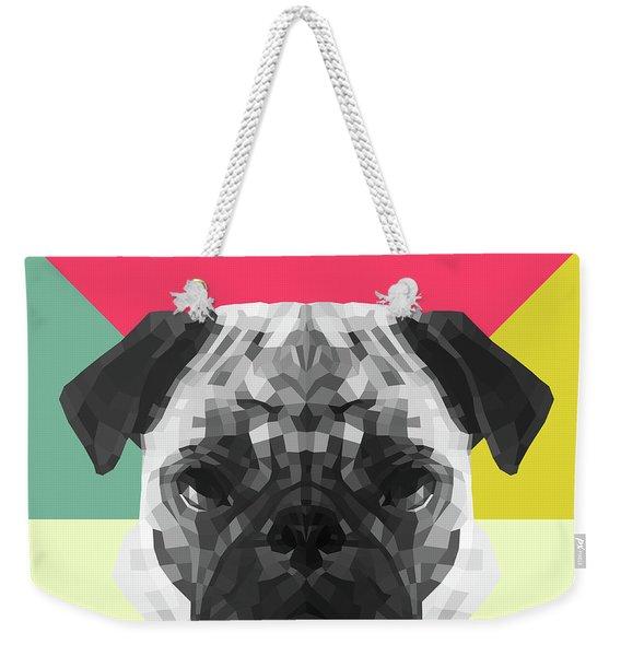 Party Pug Weekender Tote Bag
