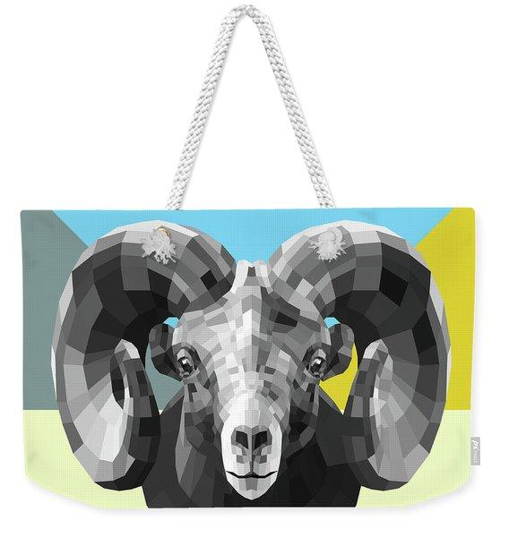 Party Ram Weekender Tote Bag