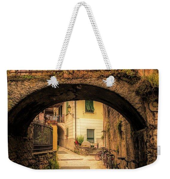Passageway In Monterosso Weekender Tote Bag