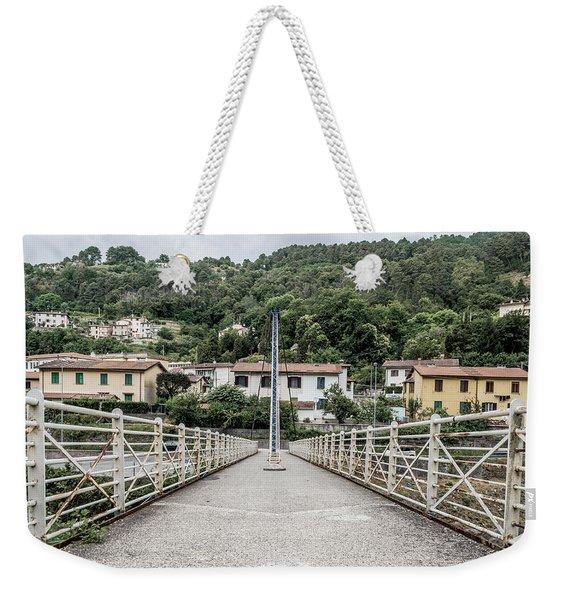 Pedestrian Walkway Weekender Tote Bag