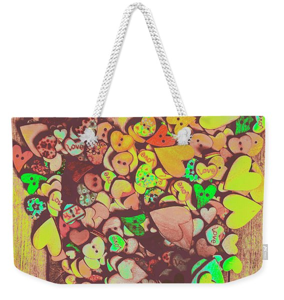 Passion For Fashion Weekender Tote Bag