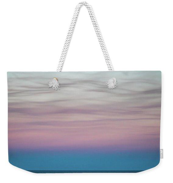 Pastel Clouds Weekender Tote Bag