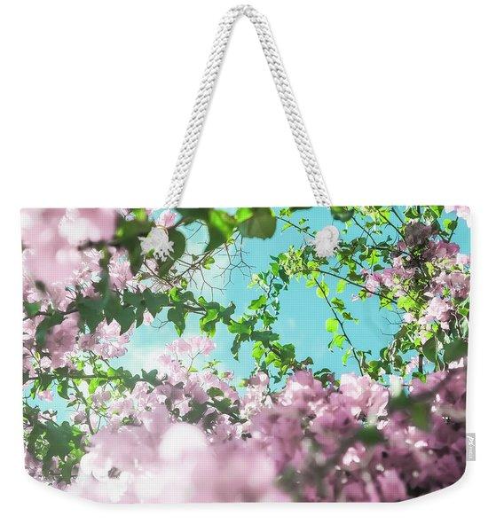 Floral Dreams II Weekender Tote Bag