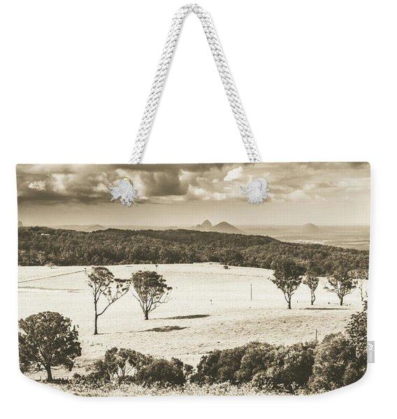 Pastoral Plains Weekender Tote Bag