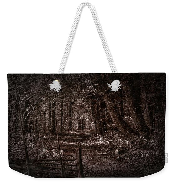 Path In Forest #i0 Weekender Tote Bag