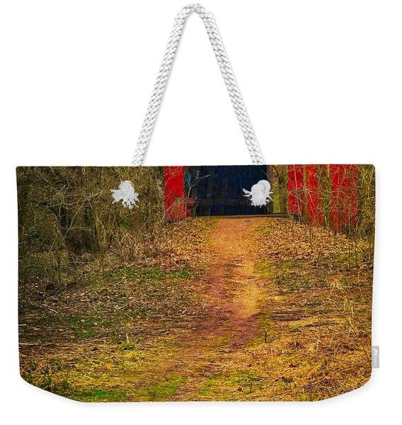 Path To Bridge Weekender Tote Bag