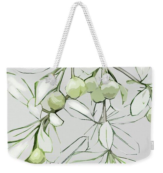 Patio Print Weekender Tote Bag