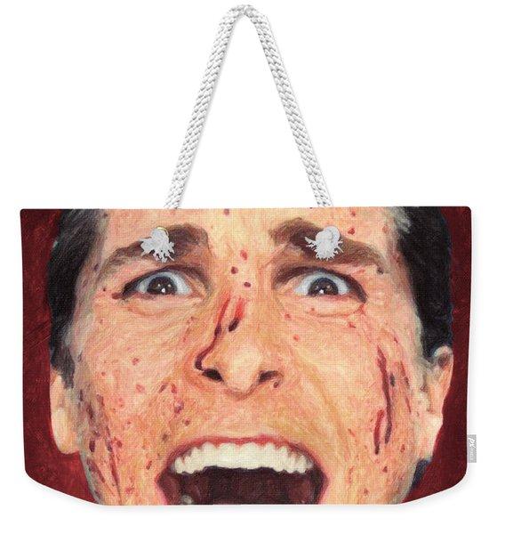 Patrick Bateman Weekender Tote Bag