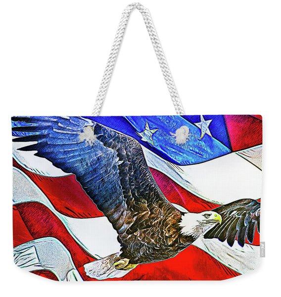 Patriotism Weekender Tote Bag