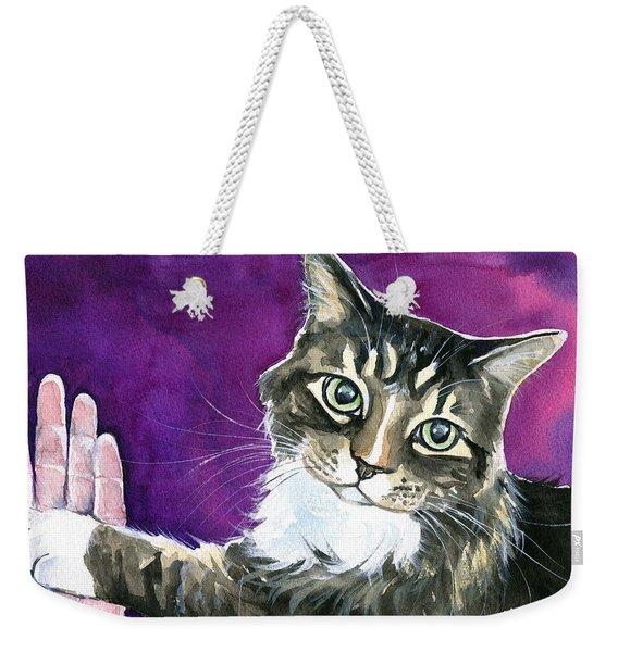 Paw Love Weekender Tote Bag