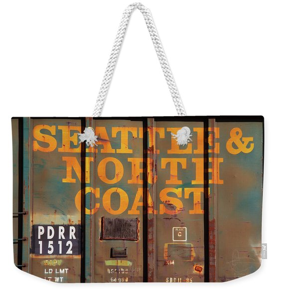 Pdrr 1512 Well Used Box Car Weekender Tote Bag