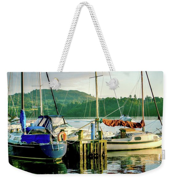 Peace In Lake Windermere Weekender Tote Bag