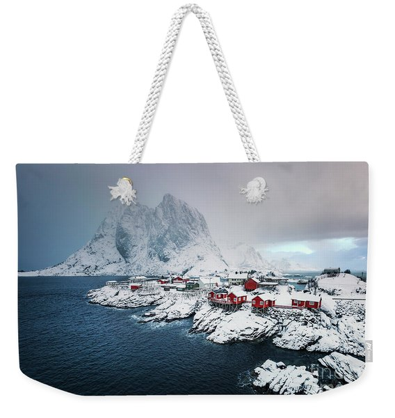Peace Of Winter Weekender Tote Bag