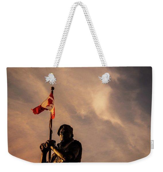 Peacekeeping Weekender Tote Bag