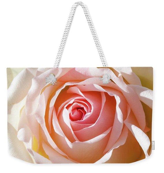 Soft As A Rose Weekender Tote Bag