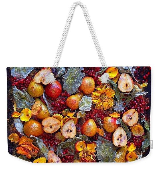 Pear Livable Tapestry Weekender Tote Bag
