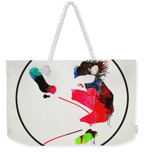 Pearl Jam Watercolor Weekender Tote Bag