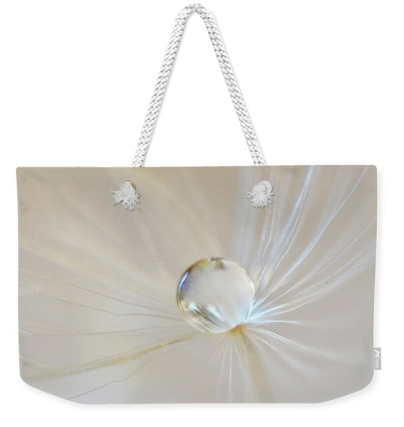 Weekender Tote Bag featuring the photograph Pearl by Michelle Wermuth
