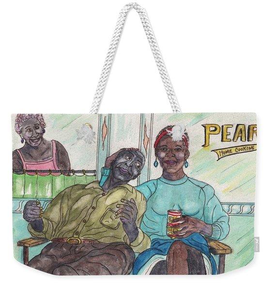 Pearls Home Cooking Weekender Tote Bag