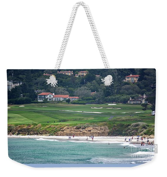 Pebble Beach Serenity After The Open Weekender Tote Bag