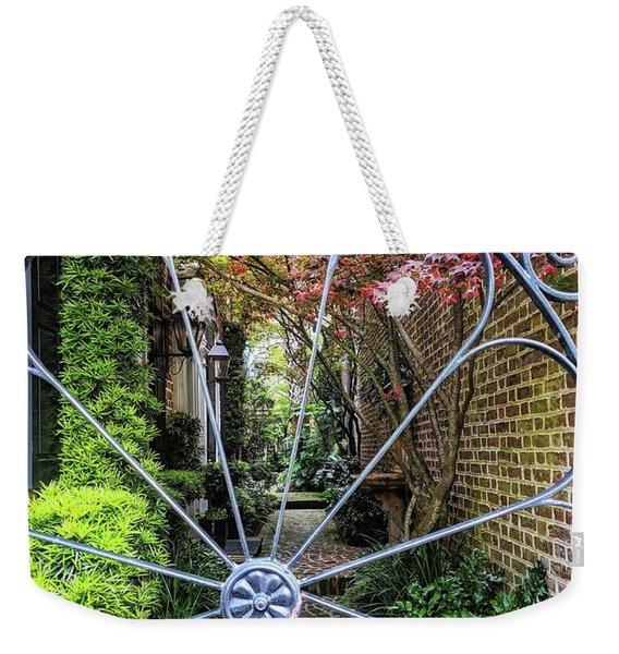 Peek-a-boo Garden Weekender Tote Bag