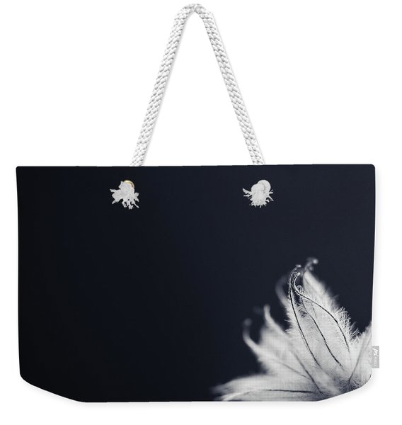 Weekender Tote Bag featuring the photograph Peek by Michelle Wermuth