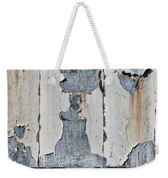 Peeling Paint And Shadows Weekender Tote Bag