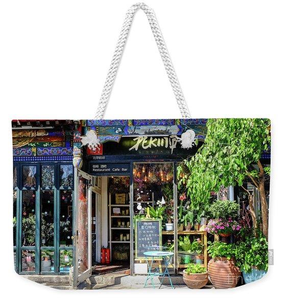 Peking Cafe Weekender Tote Bag