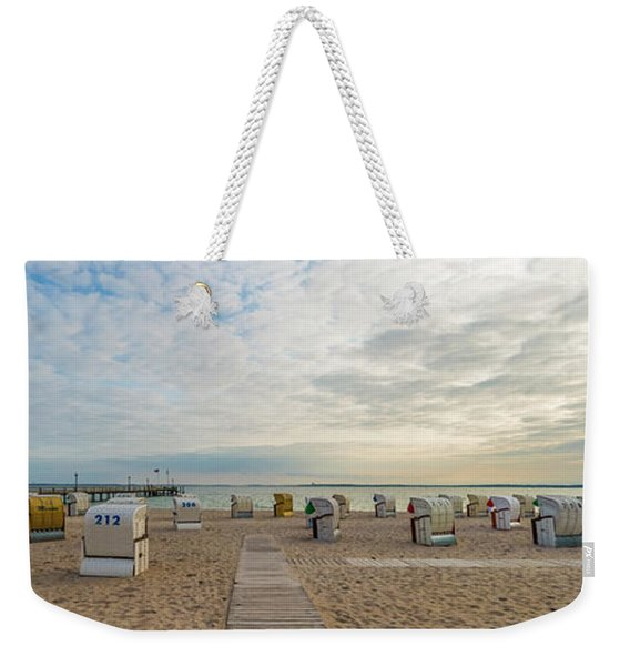 Baltic Sea Idyllic Evening Atmosphere Weekender Tote Bag