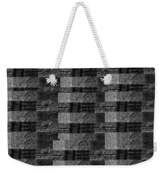 Pencil Scribble Texture 2 Weekender Tote Bag