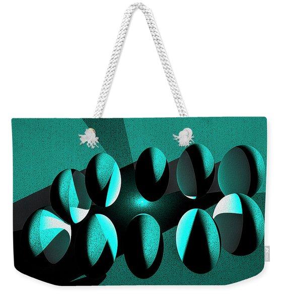 Penguin Eggs Weekender Tote Bag