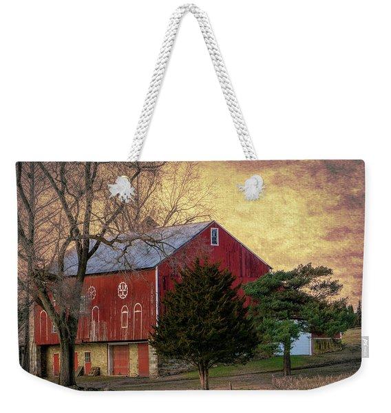 Pennsylvania Vintage Barn  Weekender Tote Bag