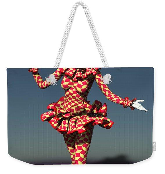 Perched Of Pierrette Weekender Tote Bag
