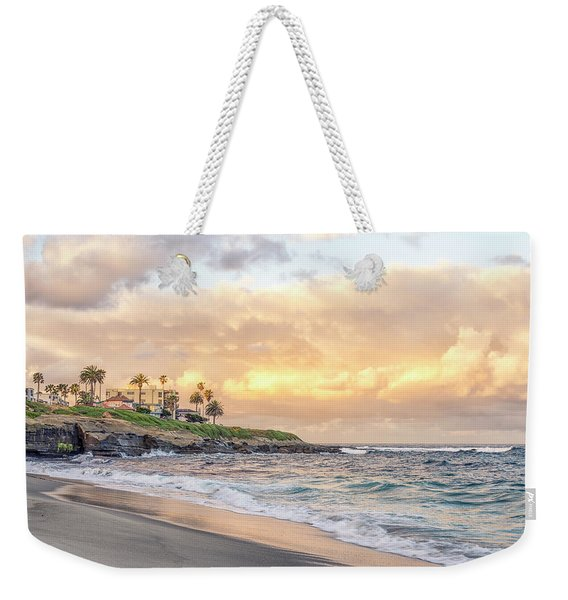Perfect Morning From Wipeout Weekender Tote Bag