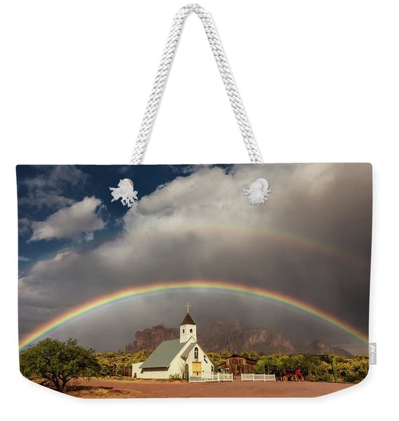 Perfect Placement Weekender Tote Bag