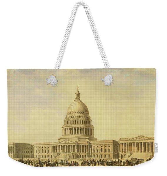 Perspective Rendering Of United States Capitol Weekender Tote Bag